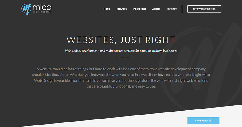 Mica Web Design | Boston Area Web Design And Development